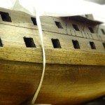 model boat in Museum Store