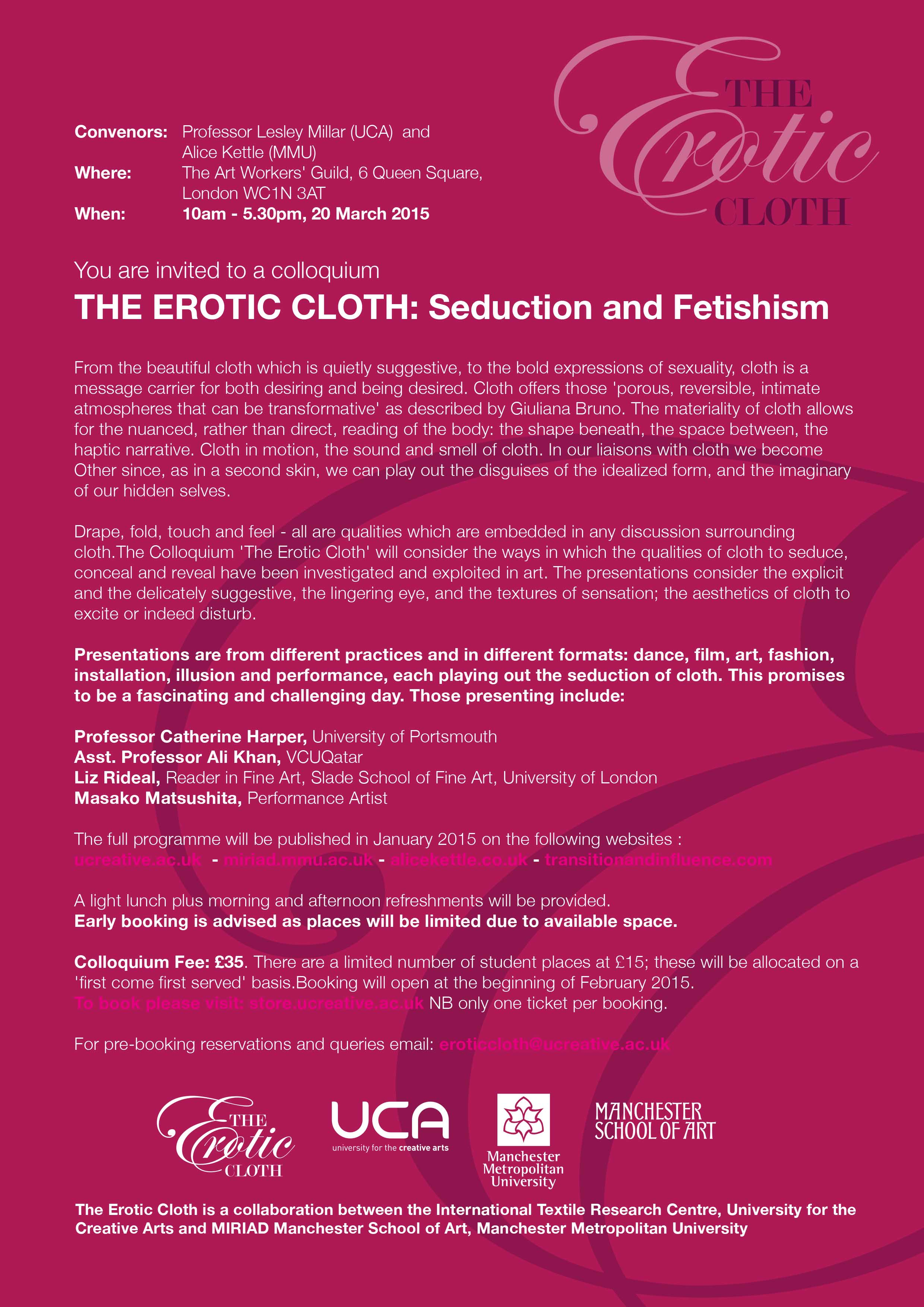 The Erotic Cloth