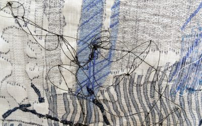 Painting Into Textile