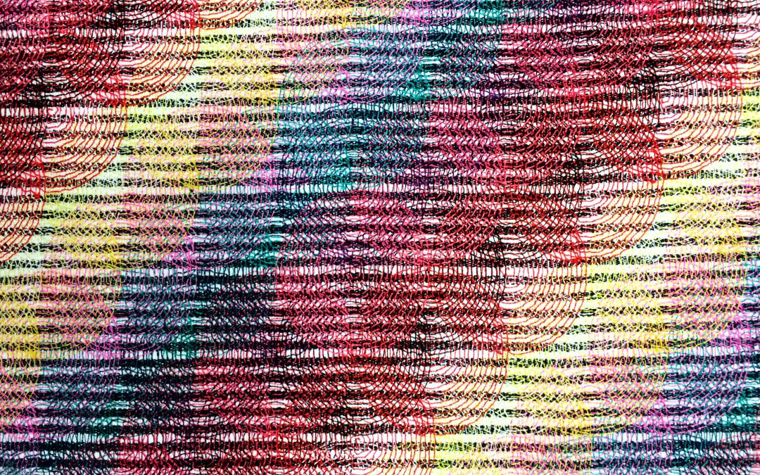 Painting into Textile: Inspired by Michael Kidner