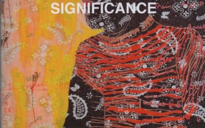 Significance – accompanying catalogue to exhibition, 2016
