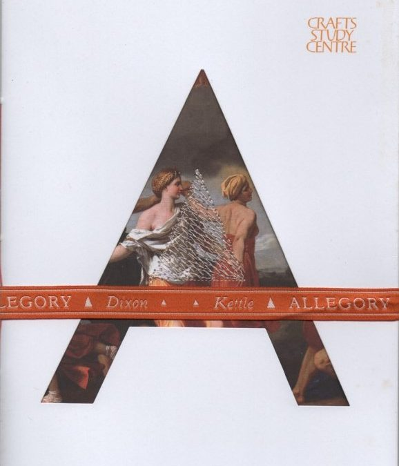 Allegory – accompanying catalogue to exhibition, 2009