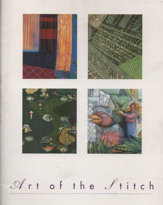 Art of the Stitch – accompanying catalogue to exhibition, 1995