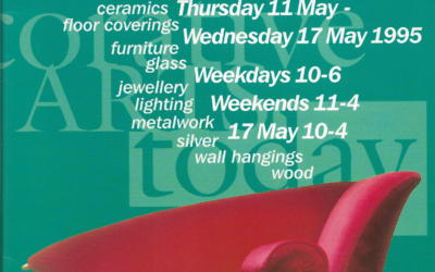 Decorative Arts Today – accompanying catalogue to exhibition, 1995