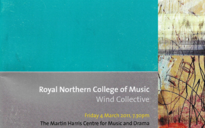 Royal Northern College of Music: Wind Collective